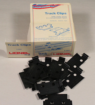 Lionel 027 Track Clips