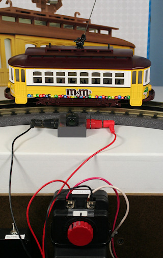 Toy Train Layout Wiring - Basic on
