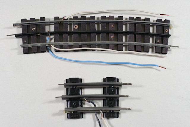 toy train layout wiring soldering