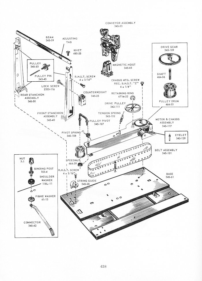 345 and 342 instructions diagrams