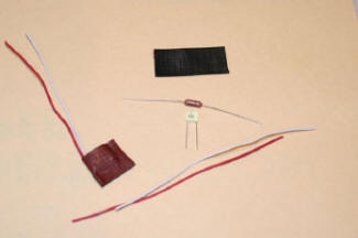 Track signal filter components for model train track using an MTH remote control.